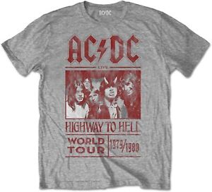 AC-DC-ACDC-Highway-To-Hell-World-Tour-1979-1980-Grey-T-SHIRT-OFFICIAL-MERCH