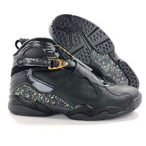 cd5697c2c4902c Nike Air Jordan 8 VIII Retro C C Confetti Black Gold 832821-004 ...