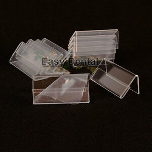 b3dd1762ba3 50pcs SMALL Table Name Card Price Tag Advertising Sign Display Stand ...