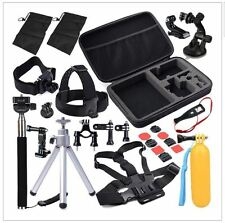 30in1 Pole Head Chest Mount Strap GoPro Hero 2 3 4 Camera Accessories Set Kit UK