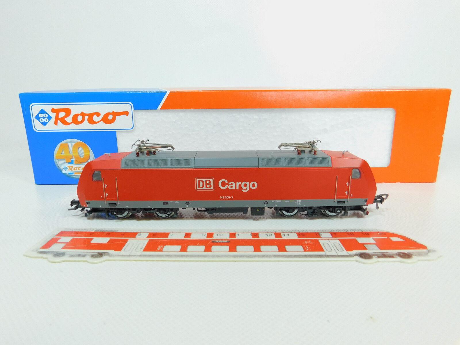 Bo158-2  ROCO h0/dc 63560 E-Lok/e-Locomotiva Cargo DB NEM DSS, Digital, Neuw + OVP