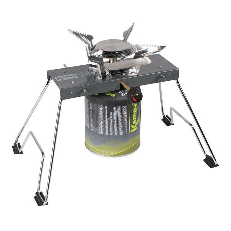 HIGH PERFORMANCE FOLDING GAS STOVE is camping burner cooker 3.8kW Solo