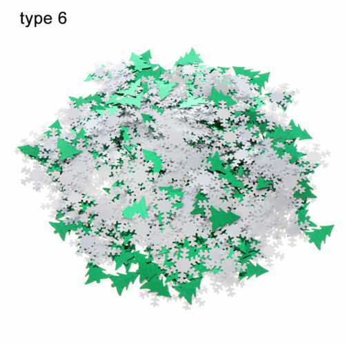 Tree Glitter Christmas Confetti Tinfoil Sequins Festival Ornament Party Supply