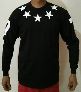 03ac452d96c1 Stars jersey t-shirt Proclub baseball yeezy hood kanye dope hip ...