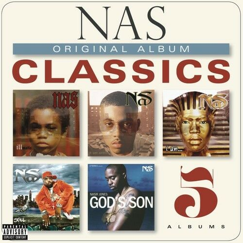 Nas - Original Album Classics [New CD] Explicit, Boxed Set