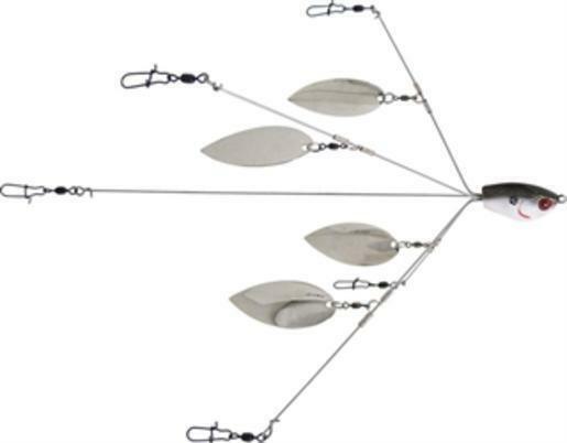 YUM Fishing Lure Yumb3tsnrk1 Yumbrella 3-wire Rig Kit Floating for sale online