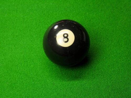 """American Pool Ball set 2/"""" dia with 1 7//8/"""" Cue Ball"""