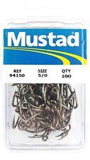 Mustad 94150BR #1//0 100CT Livebait Hook 6181