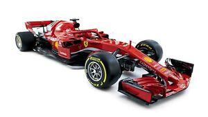 2018-Ferrari-SF71H-Auto-Car-Art-Silk-Wall-Poster-Print-24x36-034