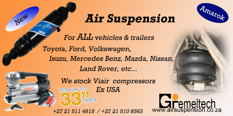 Gremeltech - Pneumatic Accessories for your 4x4, bakkie or truck.