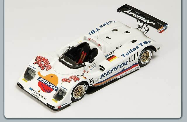 Spark 1 43 Porsche Kremer K8  5 Le Mans 1997 S0323