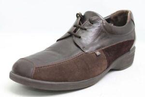 Xsensible-Schuhe-braun-Leder-Schuhweite-H-Gr-40-UK-6-5