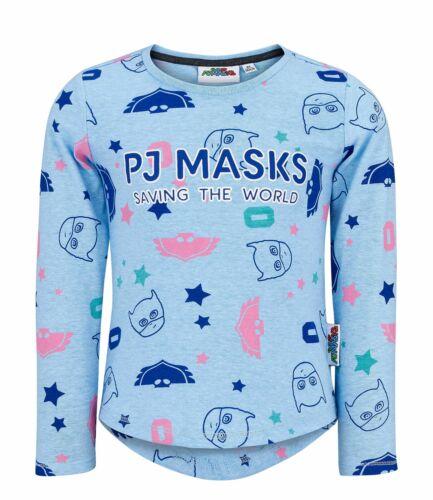 PJ máscaras Niñas Azul T-Shirt