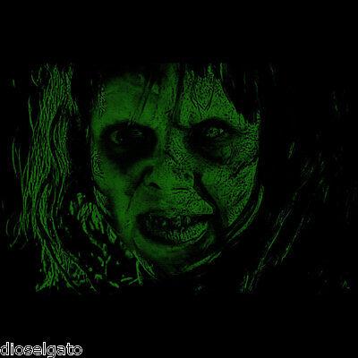 Linda Blair The Exorcist Movie Halloween Horror Black T Shirt Tee
