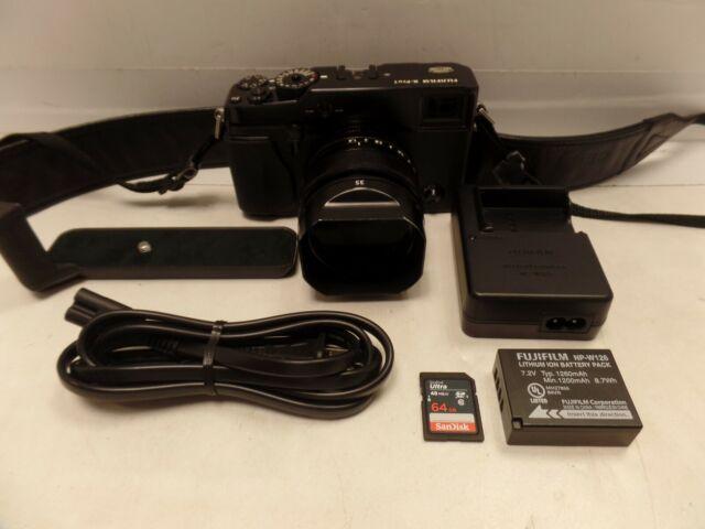 Fujifilm X Series X-Pro1 16.3MP Digital Camera - Black W/ Fujinon 35mm f/1.4