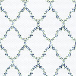 RAPIDO-Papel-pintado-Petite-Fleur-III-285368-pequeno-cruces-ornamento-blanco