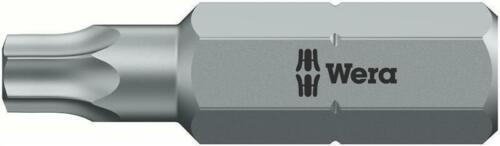 20 IPR x 25 mm Wera 867//1 IPR TORX PLUS® Bits mit Bohrung
