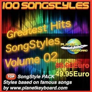 GIGA PACK VOL 04 3000 SONGSTYLES SONG STYLES POUR YAMAHA TYROS TYROS 2 PSR-S900
