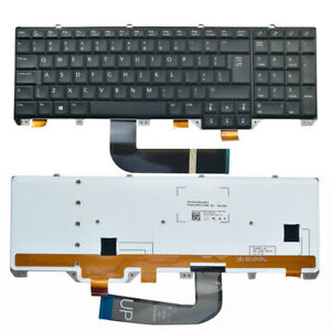 0f2476a4b373 for Dell Alienware M17X R5 US English Layout Black Laptop Keyboard ...
