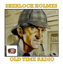 Sherlock Holmes Old Time Radio Shows Mp3 CD Classics for sale online