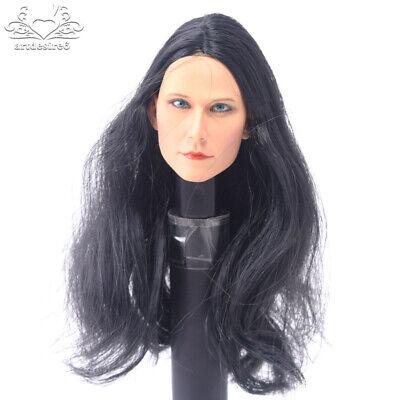 "ZC TOYSHead Sculpt Model 1:6 Scarlett Johansson Black Widow l F 12/"" Female Body"