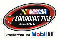 Nascar Canadian Tire Series Sticker Decal 8.25 X 5.5 ... Mobile 1