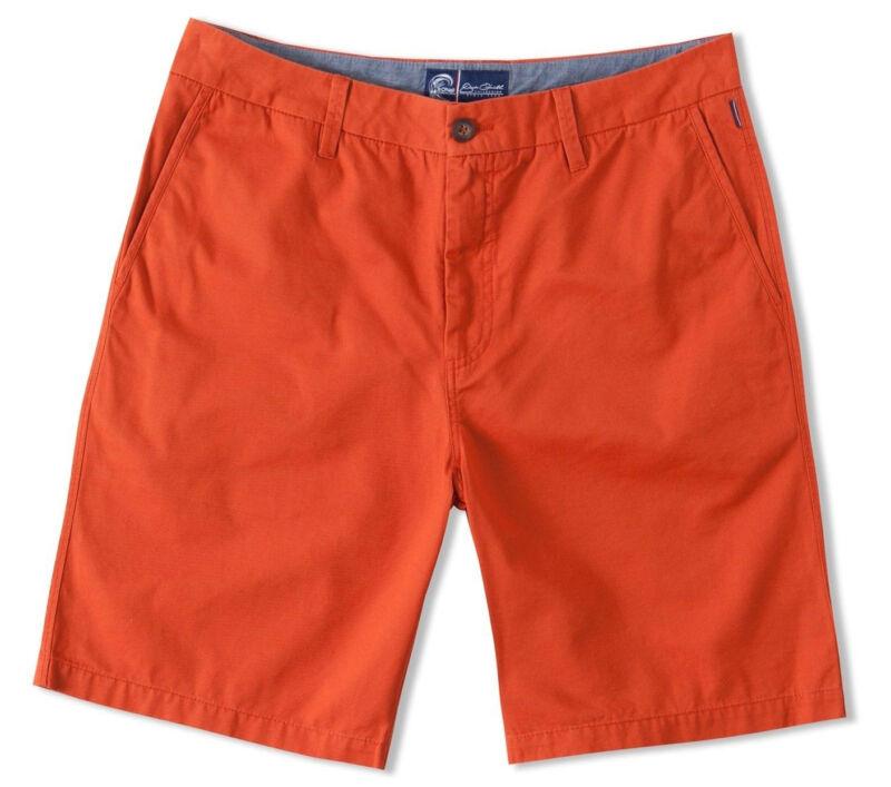 O'neill Ancora Uomo Jack O' Neill Collezione Pantaloncini 32 Arancione Nuovo