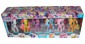 NEW-My-Little-Pony-The-Movie-Magic-Of-EveryPony-Mega-Collection-6-x-6-034-Ponies
