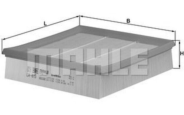 KNECHT Filtro de aire FORD TRANSIT LDV CONVOY LX 615