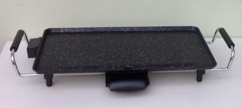 Elektrogrill Grillplatte Teppanyaki Grill Tischgrill  mit Marmor Beschichtung