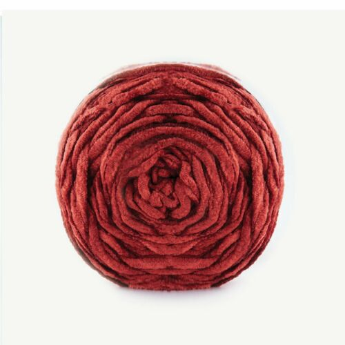 Manta De Terciopelo PAPATYA 04 100g Hilo de Lana Acrílico Pastel De Chenille Tejer Crochet