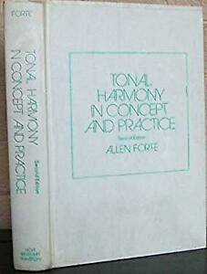 Tonal Harmony in Concept and Practice Hardcover Allen ...