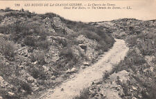 CPA GUERRE 14-18 WW1 CHEMIN DES DAMES 735 LL english sub