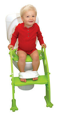 Soft Seat Potty - Baby Toilet Trainer - Kids Training Ladder by Roger Armstrong