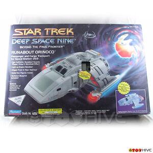 Star Trek Deep Space Nine Ds9 Runabout Navette de l'Orénoque Navire Playmates scellée 43377062523