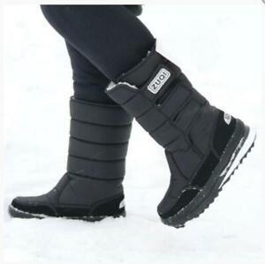Men's Warm Snow Boots Outdoor Fur Shoes