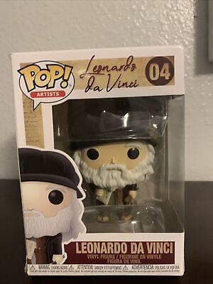 PROTECTOR Leonardo da Vinci Funko Pop Vinyl NEW Leonardo da Vinci