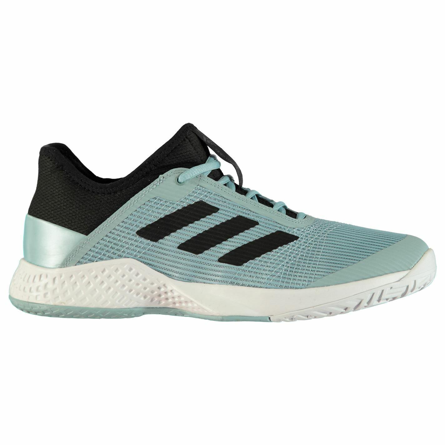 Adidas Para Hombre Adizero Club Tenis Zapatos Zapatillas Con Cordones Collar De Tobillo Acolchado