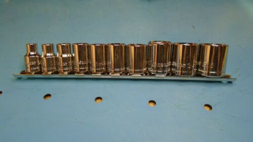 3//8 Drive Kobalt 10 piece 6-Point SAE Socket Set Free Ship 9//32 ~ 13//16 New
