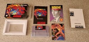 Super-Metroid-Super-Nintendo-SNES-Samus-Game-CIB-Complete-Box-Book-Manual-lot