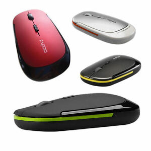 Rapoo-Wireless-Mouse-Optical-Scroll-2-4Ghz-Cordless-USB-Dongle-Laptop-PC-Mac
