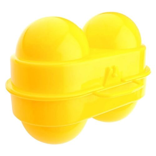 3-Pack Coghlan/'s 2 Egg Holder Yellow Hard-Plastic Carrier w//Handles Compact