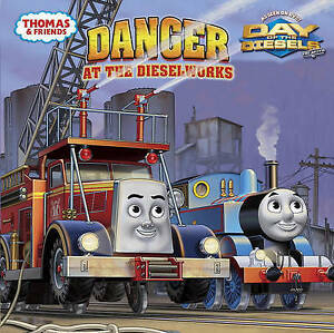 Danger-at-the-Dieselworks-Thomas-amp-Friends-8x8-Awdry-Wilbert-Vere-Very-Go