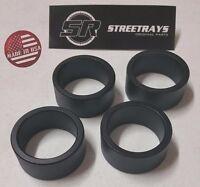 Streetrays Yamaha Kodiak 350 400 450 700 Atv Complete 2.5 Lift Spacer Kit Black