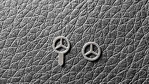 Mercedes-Benz-Star-Emblem-Logo-kyosho-Norev-Autoart-1-18-steel-replacement