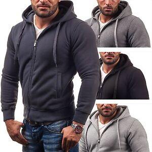 Bolf-Star-Raw-45na-Sudadera-jersey-capucha-chaqueta-SALE-1a1-Con