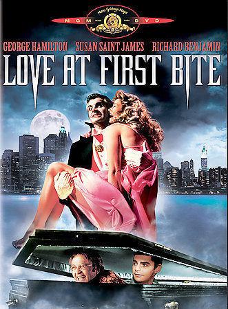 Love at First Bite (DVD, 2005) George Hamilton / Widescreen / NTSC / Region 1