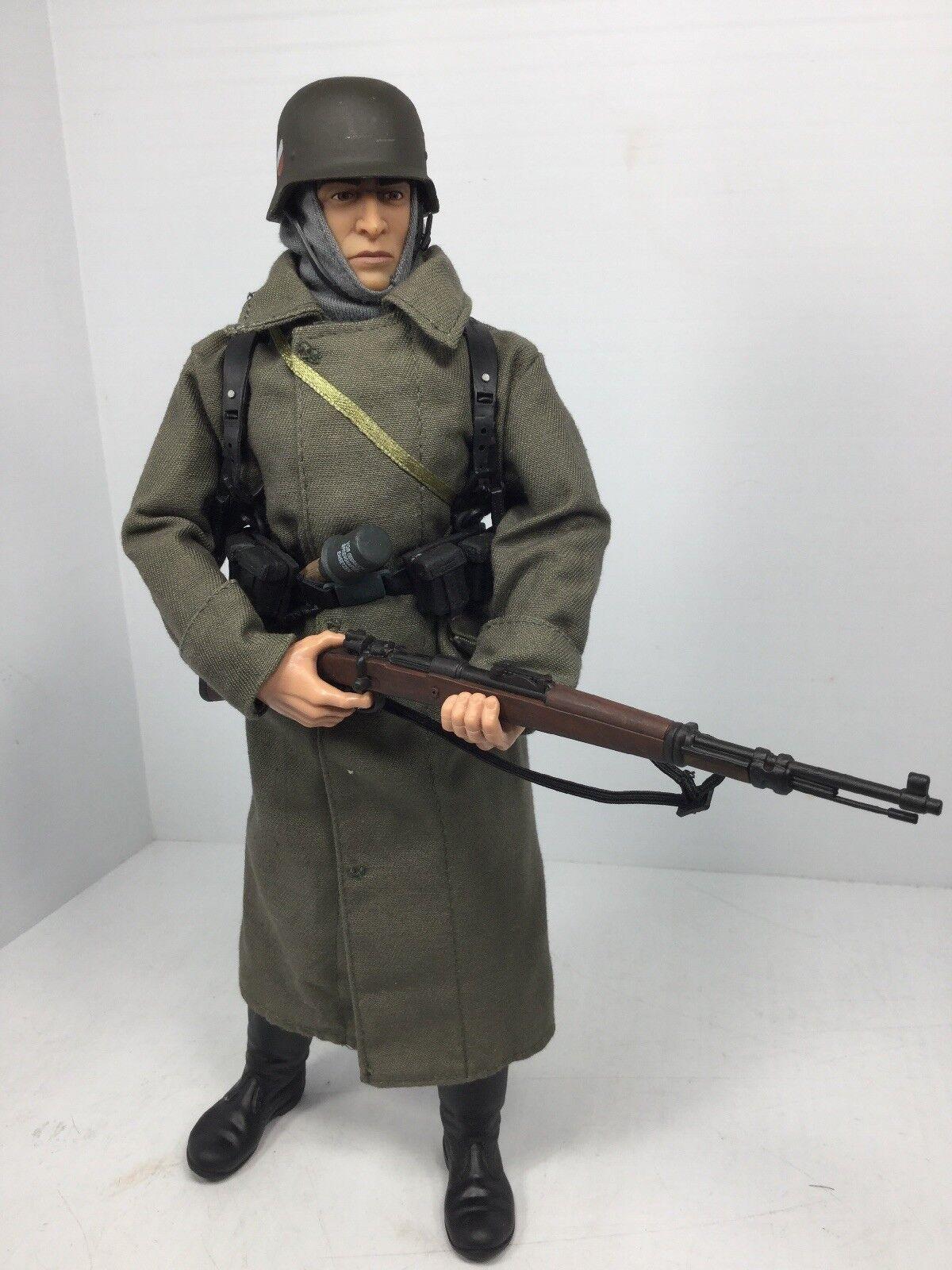 1/6 21ST CENTURY GERMAN WEHRMACHT INFANTRYMAN STALINGRAD K-98 DRAGON BBI DID WW2