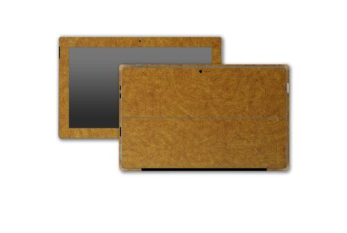 Stickerboy Microsoft Surface Pro 3 Front Back /& Sides Skin Carbon Leather Metal