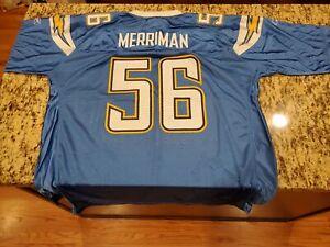 Reebok Shawne Merriman Jersey XL San Diego Chargers Blue | eBay
